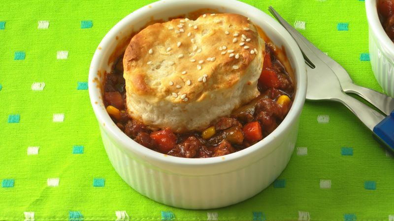 Sloppy Joe Biscuit Pot Pies (club store pack)
