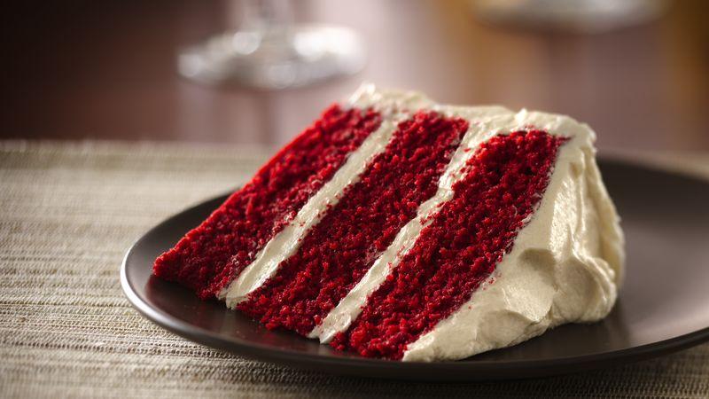Simple red velvet chocolate cake recipe