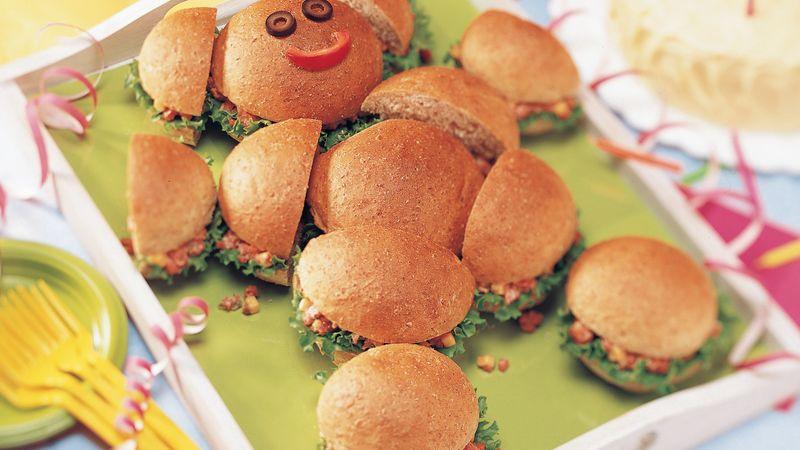 Teddy Bear Sandwiches