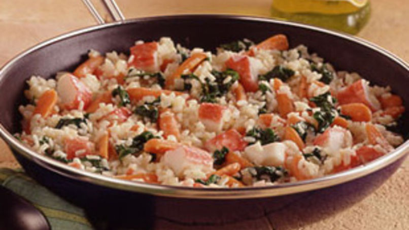 Easy Seafood Risotto