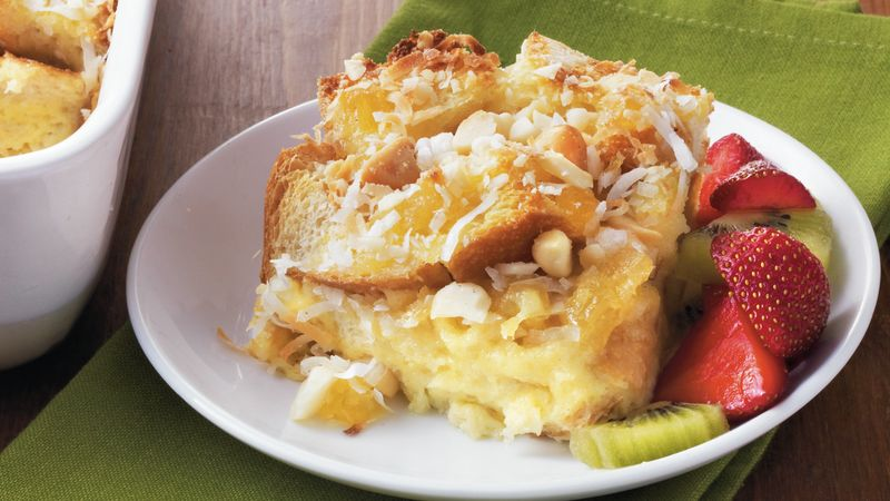 Pineapple-Coconut Strata