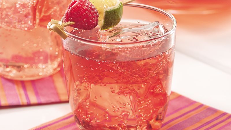 Sparkling Raspberry Tea