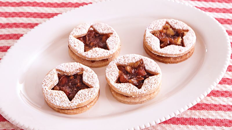 Cinnamon Date-Filled Cookies
