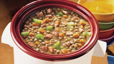 Ham and Lentil Stew