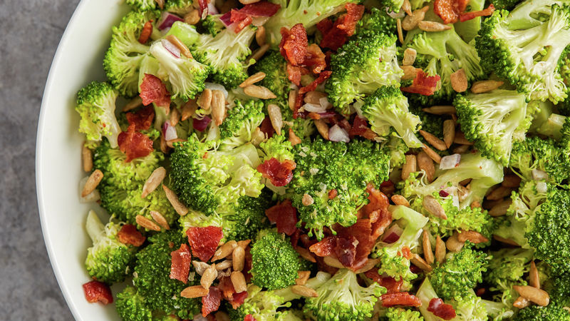 Broccoli Bacon Salad Recipe Bettycrocker Com