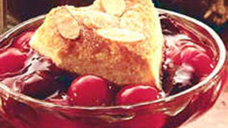 Cherry Blackberry Cobbler