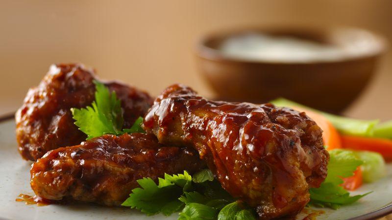 Buffalo Chicken Wings Recipe Bettycrocker Com