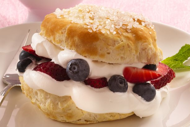 Biscuit Berry Shortcakes