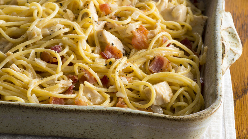 Chicken Carbonara Deluxe Recipe - BettyCrocker.com
