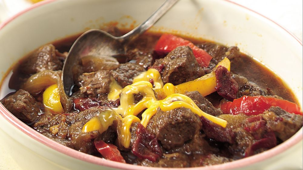 Slow-Cooker Texas Chuck Wagon Chili