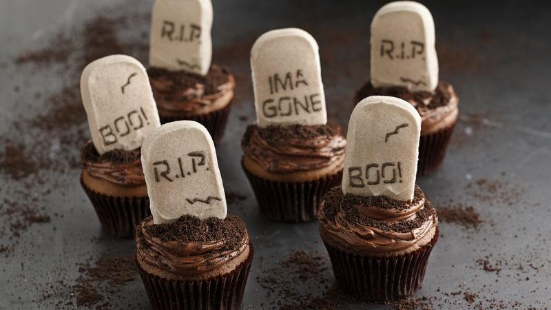 PEEPS® Tombstone Cupcakes