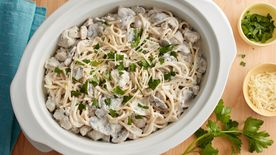 Slow-Cooker Chicken Tetrazzini