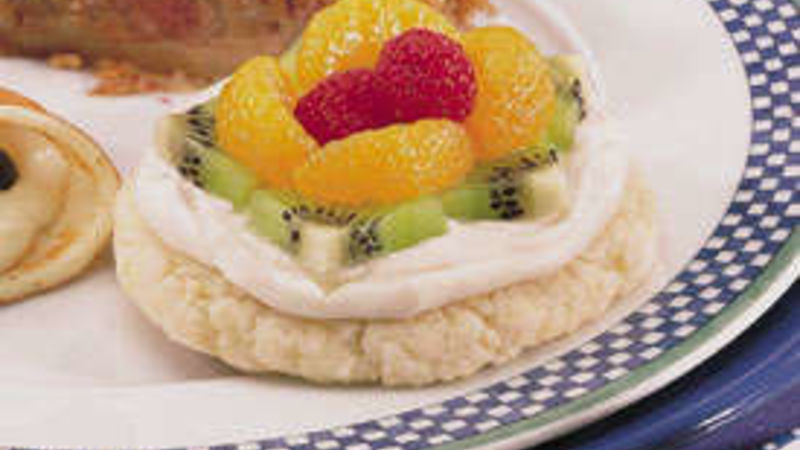 Easy Fruit Cookie Tarts