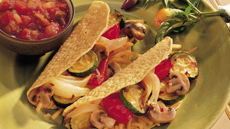Roasted-Vegetable Tacos