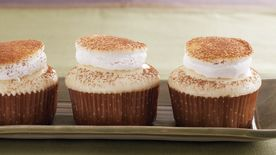 White Hot Chocolate Cupcakes