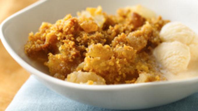 Ginger Apple Crisp