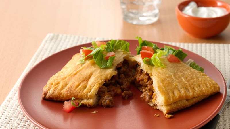 Taco-Stuffed Pockets