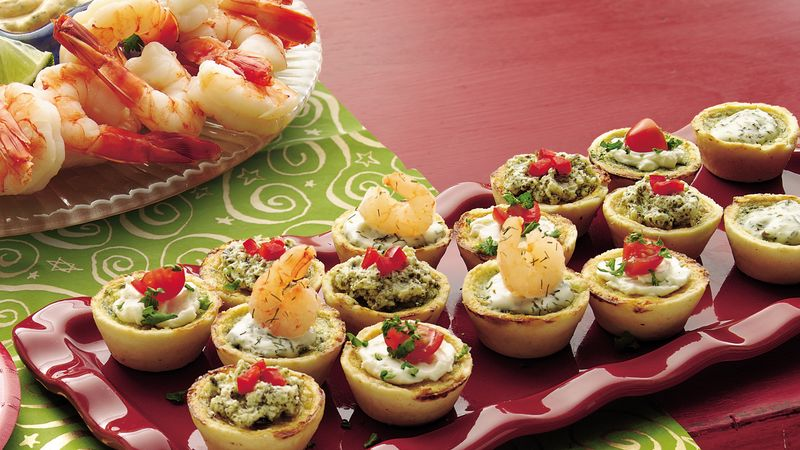 Topped Mini Quiches