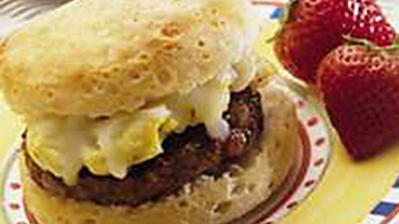 Hearty Breakfast Sandwiches