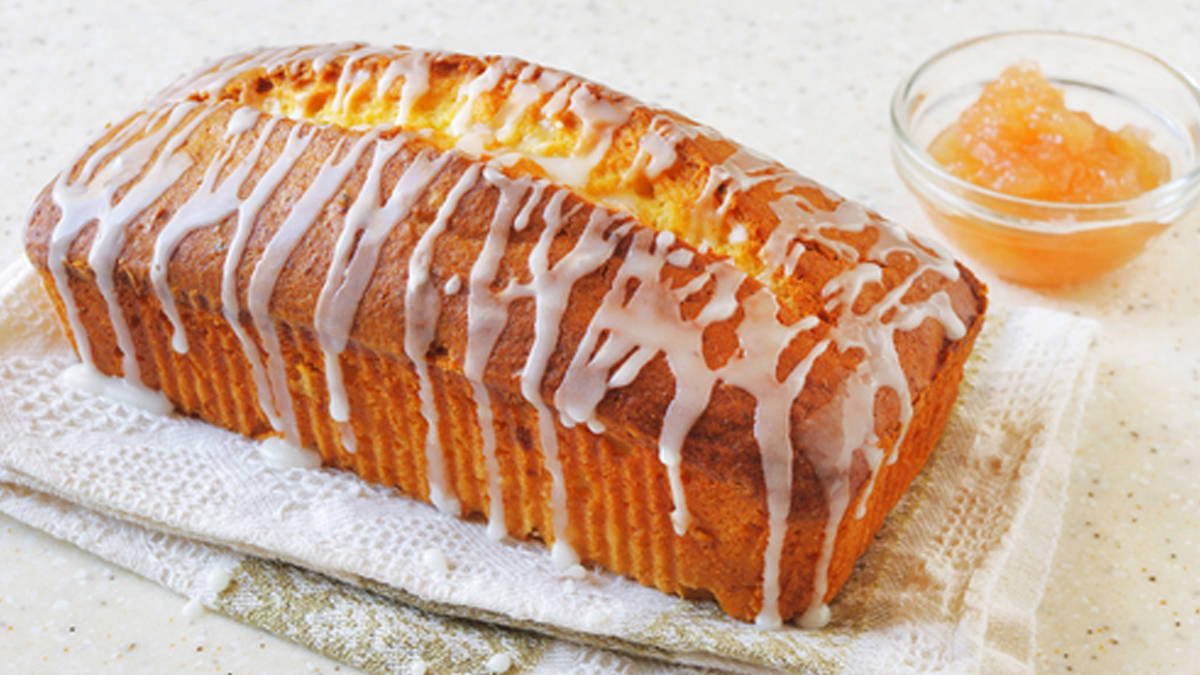 Lemon Bread with Apricots