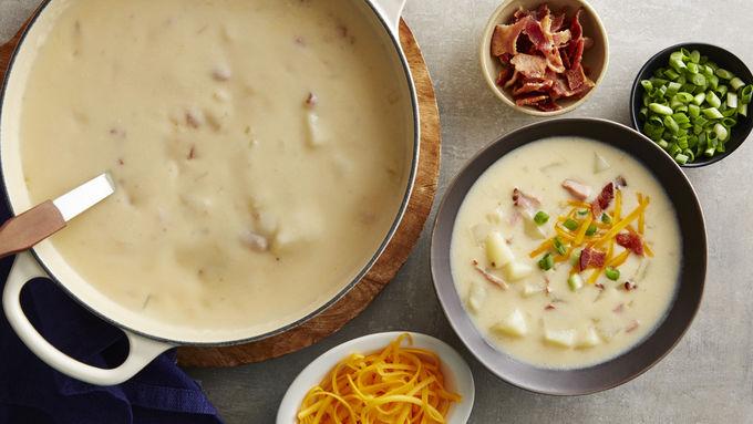 Loaded Potato Soup