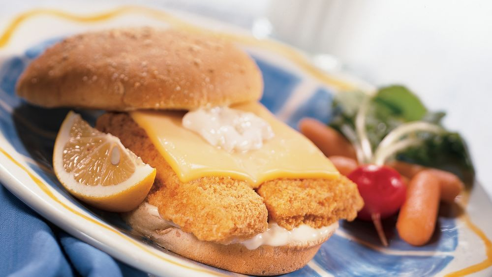 Fish fillet sandwiches recipe from for Fish sandwich recipe