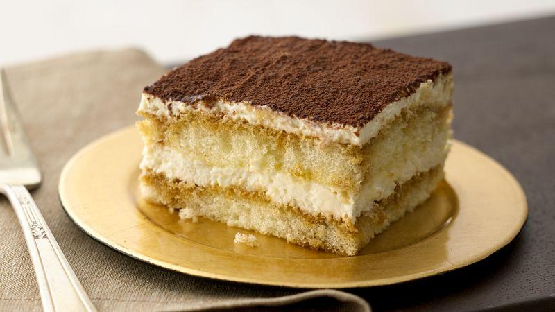 Tiramisu Recipe Bettycrocker Com