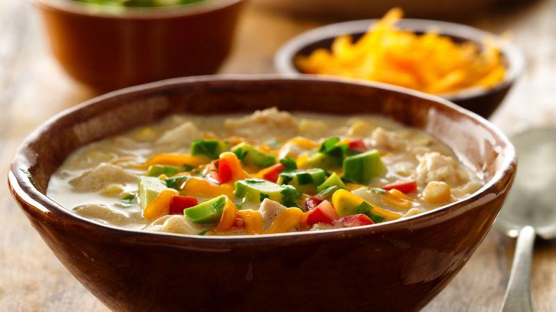 Hearty White Chicken And Corn Chili Recipe Bettycrocker Com