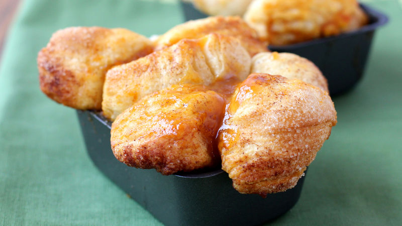 Pumpkin-Caramel Monkey Bread