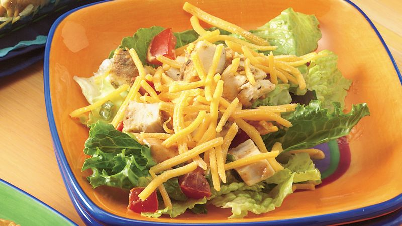 Seven-Layer Taco Salad