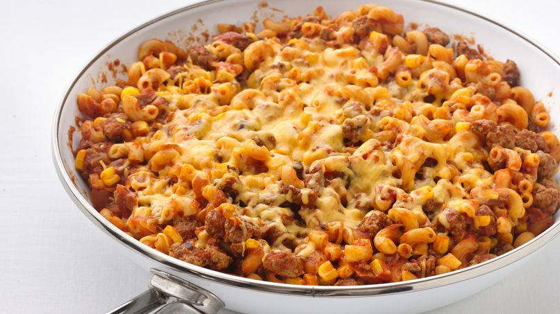Mexican Pasta Skillet