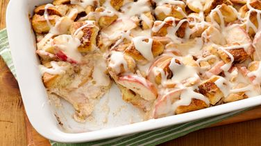 Apple Cinnamon Bubble-Up Bake