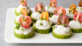 Ranch Cucumber Bites