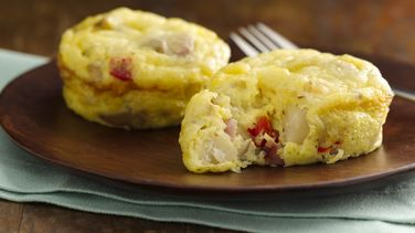 Potato and Ham Mini Frittatas