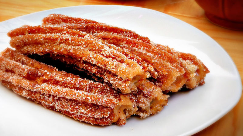 Churros Filled With Dulce De Leche Recipe Tablespoon Com