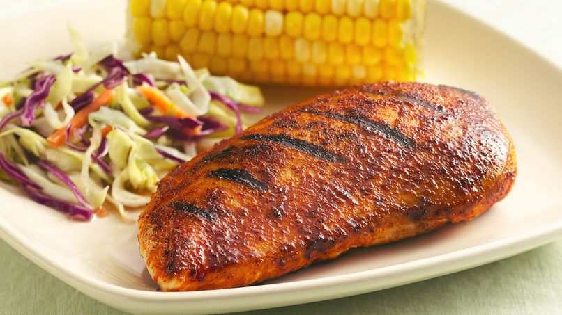 Ultimate Barbecue-Rubbed Chicken