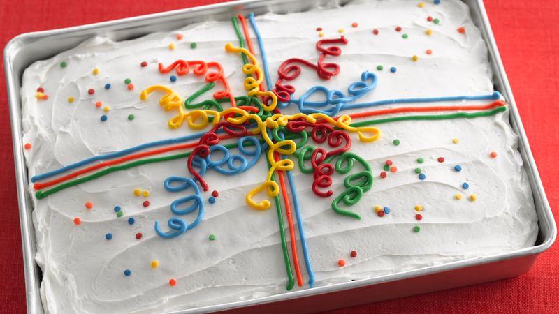 Red Velvet Present Cake