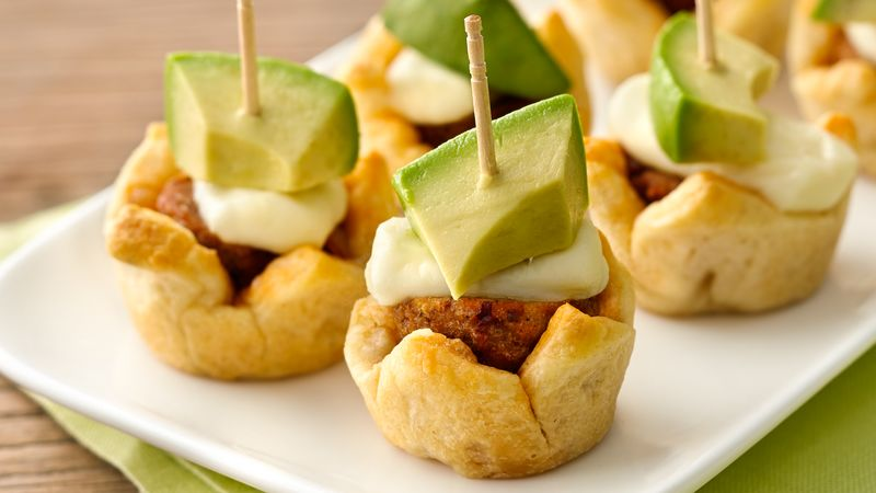 Chipotle Meatball Appetizers Recipe Pillsbury Com
