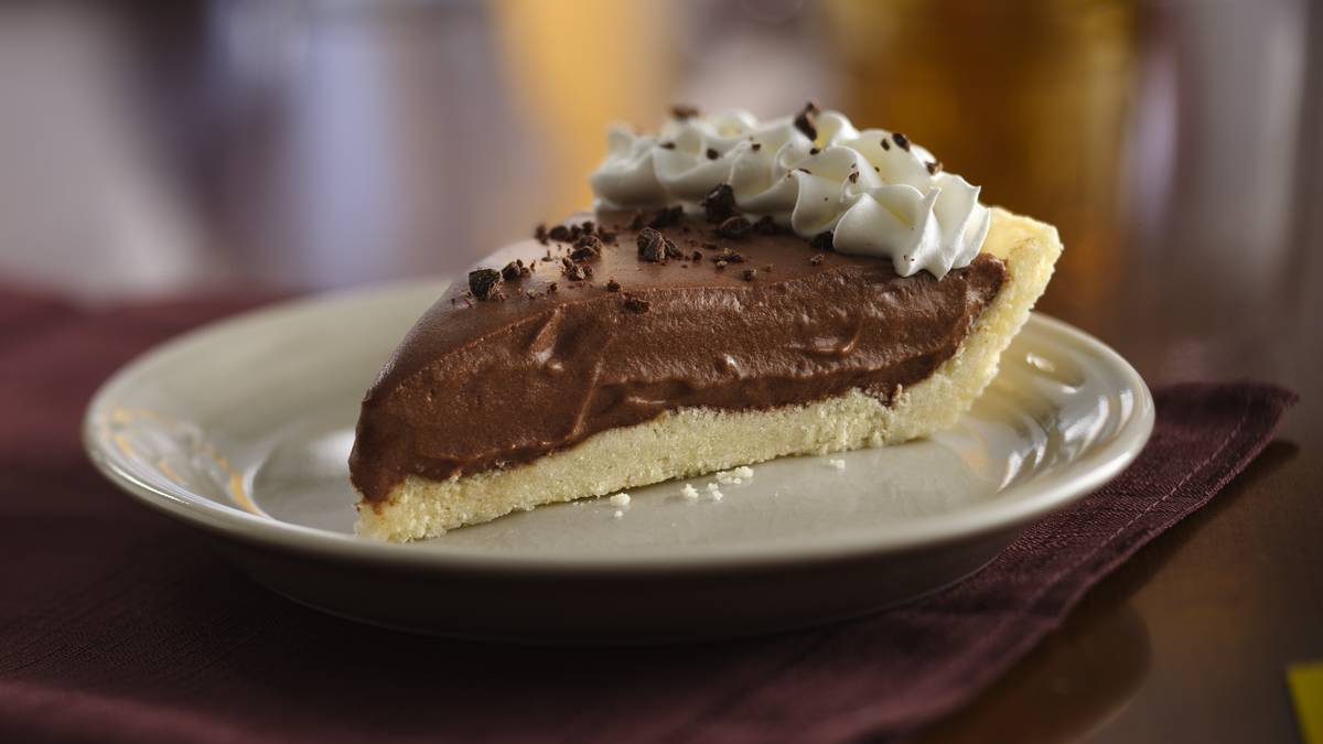 Gluten-Free Creamy Chocolate Pie