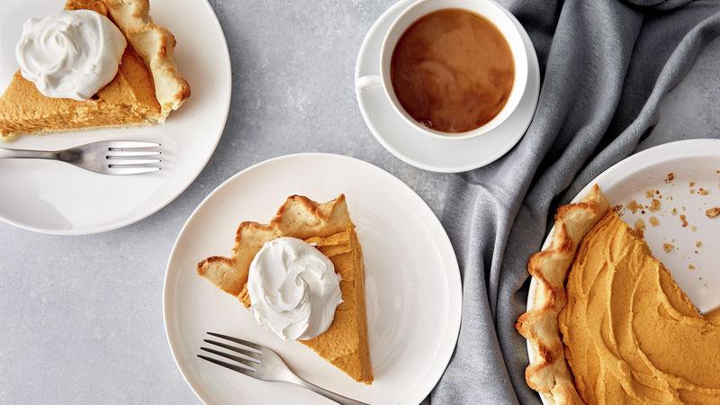Keto-Friendly* Pumpkin-Cream Cheese Pie