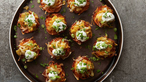 Mexican Hash Brown Muffins