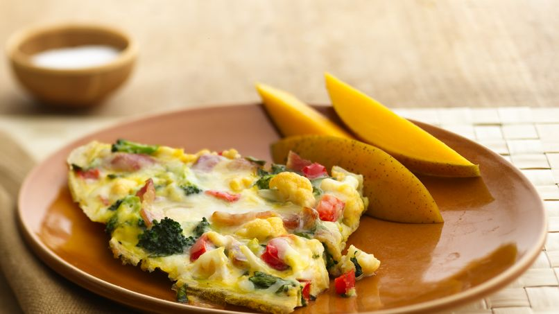 Garden Vegetable and Herb Frittata