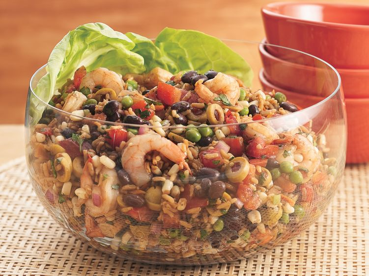 Shrimp and Rice Salad