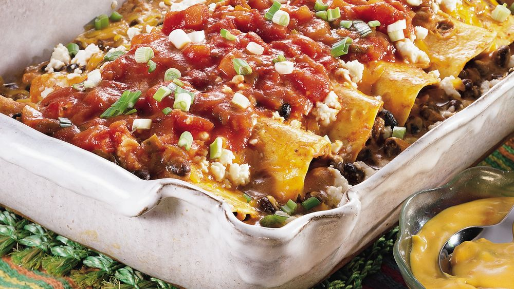 Black Bean Enchilada Casserole