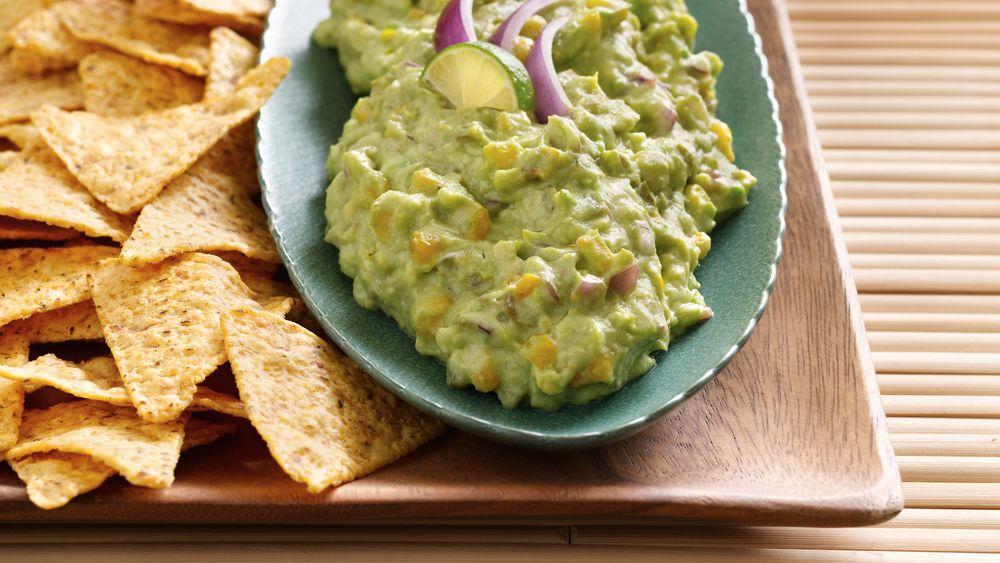 Spicy Corn Guacamole