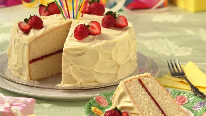 White Chocolate-Buttermilk Layer Cake