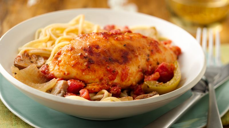 Easy chicken cacciatore crockpot recipes