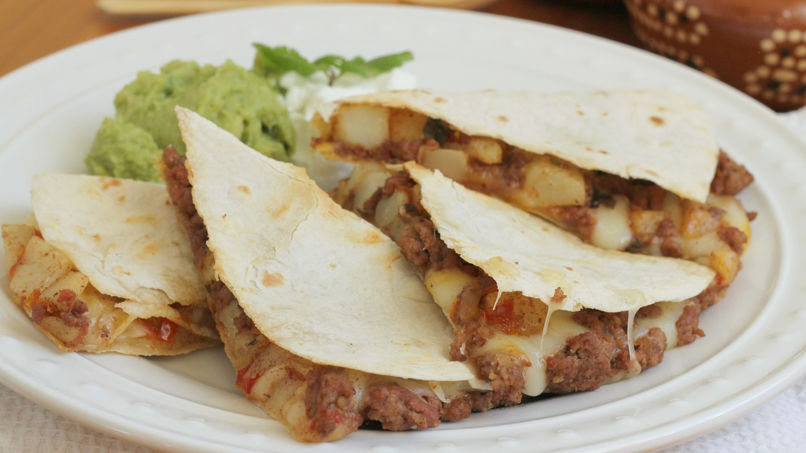 Quesadillas de Picadillo