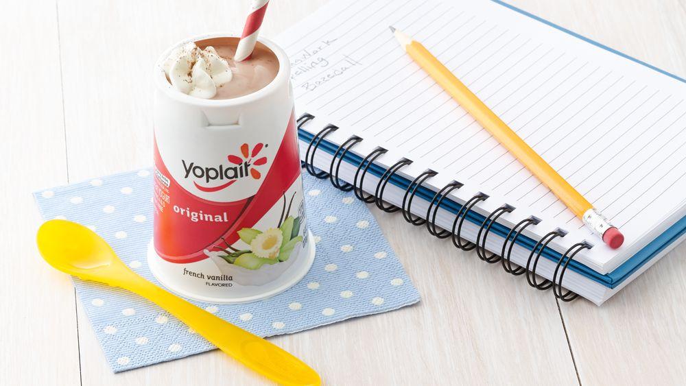 Chocolate Malt Yogurt Cup