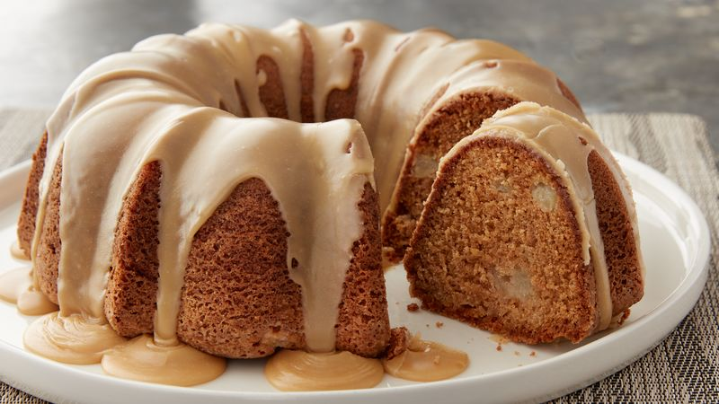 Pear Spiced Bundt Cake Recipe Bettycrocker Com